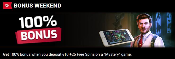 Elcarado Casino Weekend Bonus and Freespins