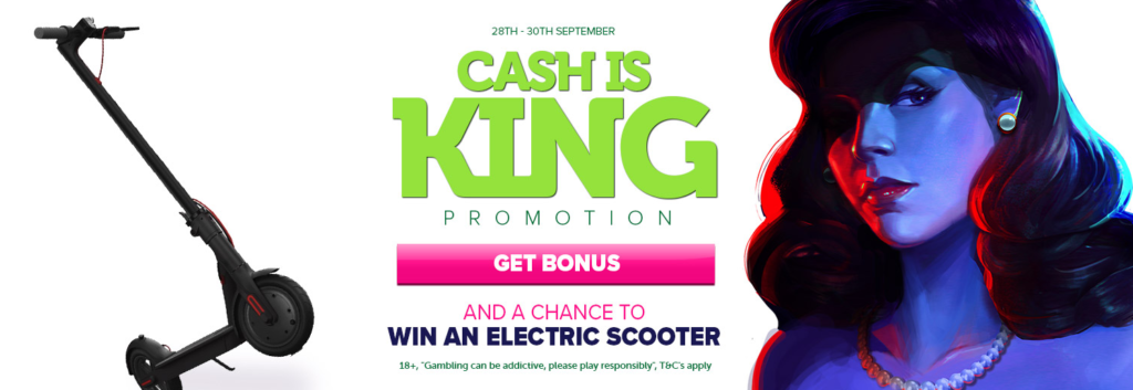 Cash is King Promotion at Casinoluck