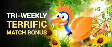 3 bonuses every week
