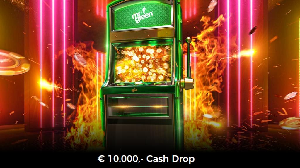 Cash Drops at Mrgreen