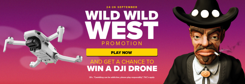 Wild Wild West Promotion at Nextcasino