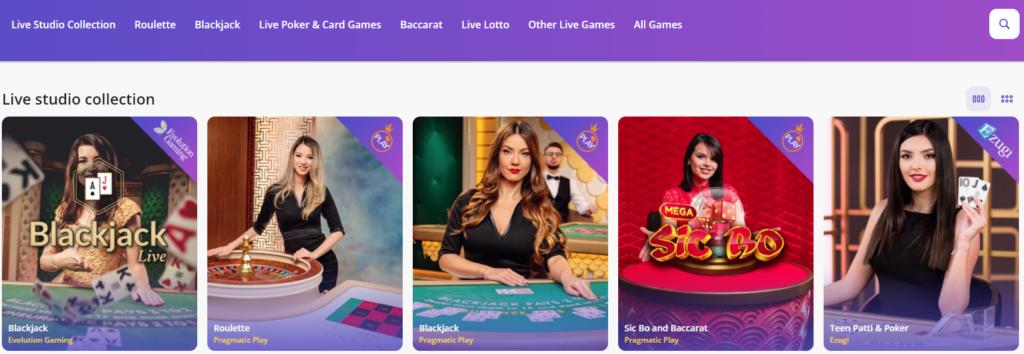 Casinodays Livecasino