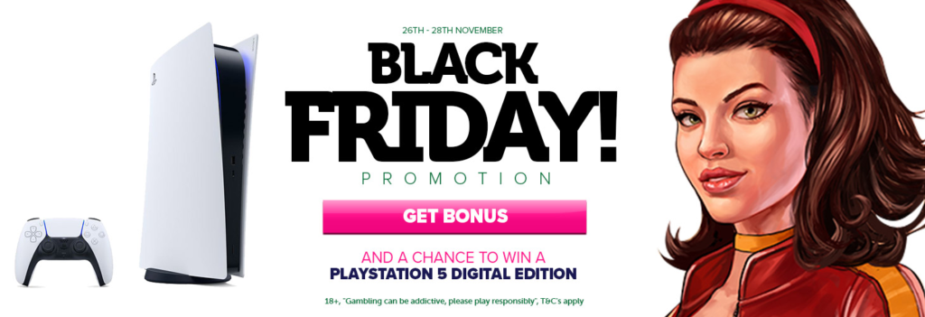 Black Friday Promotion at Casinoluck!