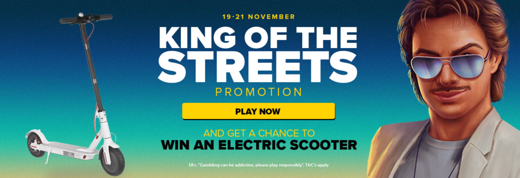 King of the Streets Promotion at Nextcasino