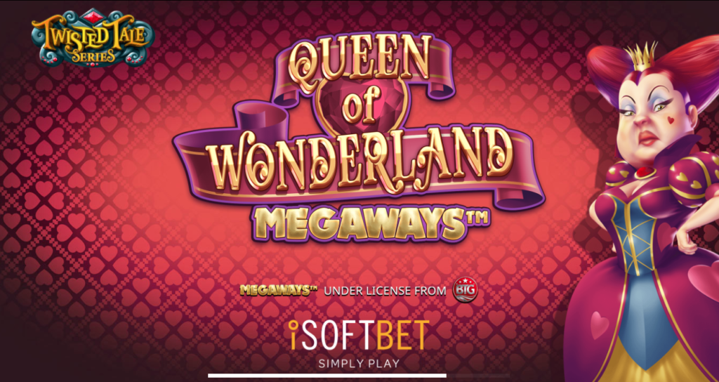 Queen of Wonderland Megaways exclusively at Royalpanda