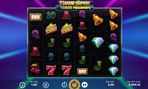 Twin Spin Megaways now with Scatter, Wilds and Freespins