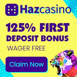 Hazcasino Exclusive wagerfree Bonus