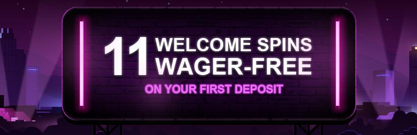 Mrvegas 11 wagerfree Freespins