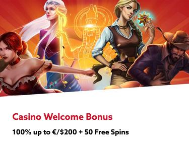 Casino Welcome Bonus at Funbet