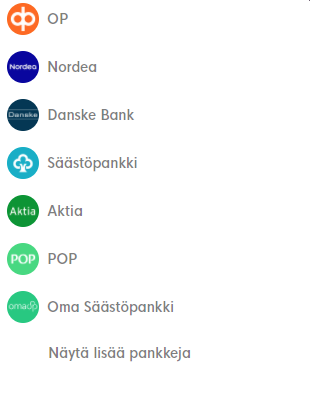 Banking option for Boomcasino Finland