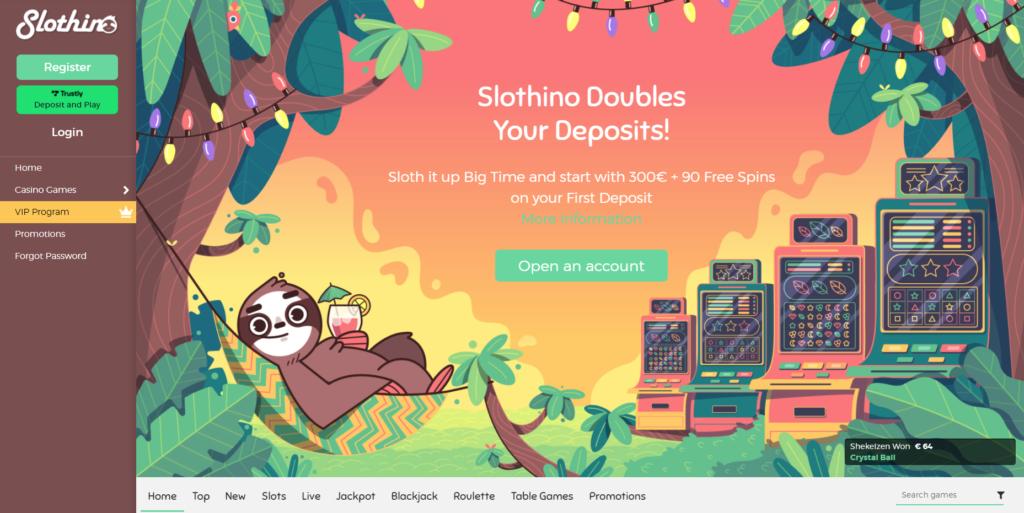 Slothino Pay n Play Casino