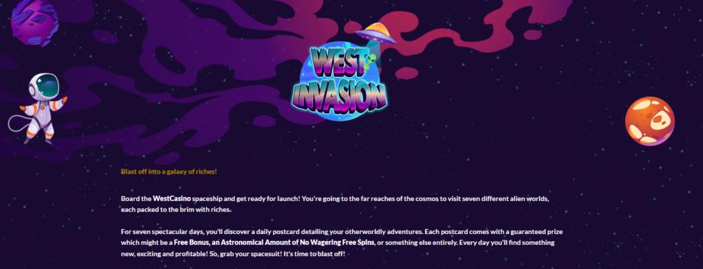 West Invasion at Westcasino