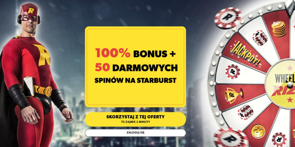 Rizk Casino Welcome Bonus Poland