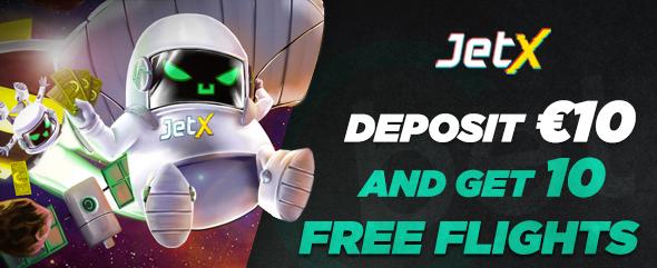 Play JetX at Cbet