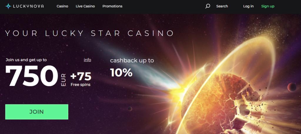 Luckynova Casino