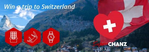 Win a trip to Switzerland at Chanz