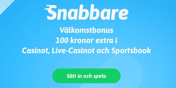 Welcome Bonus at Snabbare