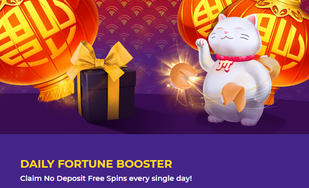 Daily Fortune Booster Freespins