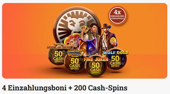 Leovegas Austria Cash Spins